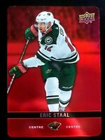 2019-20 UPPER DECK TIM HORTONS HOCKEY CARD ERIC STAAL RED PARALLEL #DC23 NM-M SP