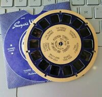 Sawyer's Rare Blue Ring view-master reel single 122 Mormon Temple & Grounds Utah