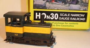 Minitrains H0e- H0n30 Locomotora Diésel #12 Plymouth en Emb.orig.,Función Buen ,