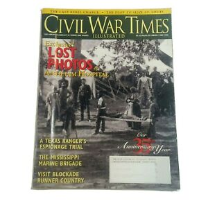 Civil War Times Illustrated MAY 1996 Exclusive, Lost Photos of Antietam Hospital