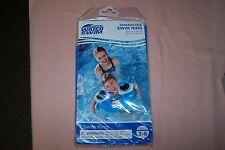 """Open Water Swim Character Blue Swim Ring Ages 3-6 23.62"""" x 18.11"""" New in Pack"""
