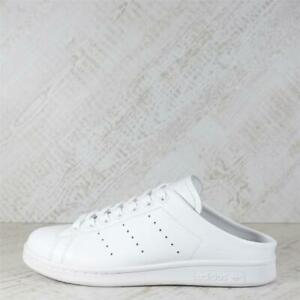 Womens Adidas Stan Smith Mule White/White Trainers (18C18) RRP £59.99