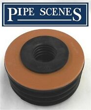 "UPVC rifiuti per il suolo adattatore PAC TUBO RIDUTTORE 110mm 4 ""a 32 mm 1 1/4"" UNDERGROUND"