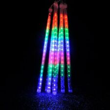 LED Meteor Shower Lights Haimi Tree 30cm 8 Tube 144 LED Falling Rain Drop Icicle