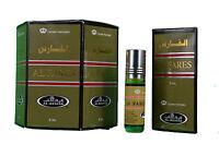 AL FARES 6ML FAMOUS AL REHAB RANGE ORIENTAL PERFUME OIL/ATTAR/ITTAR BOX OF 6