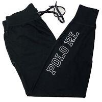 Ralph Lauren Polo Mens Sleeping Jogger Sleepwear Bottom Pant Black M