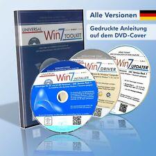 Windows 7 CD/DVD-Set für Neu-Installation, Treiber-Reparatur - Home Pro Ultimate