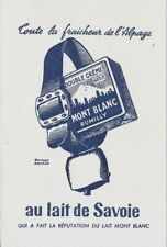 BUVARD 123561 MONT BLANC RUMILLY FROMAGE CLOCHE