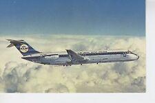 Postcard 1281 - Aircraft/Aviation KLM DC-9 Royal Dutch Airlines PH-DNG