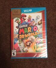 Super Mario 3D World - Nintendo Selects (Wii U, 2016) Brand New Sealed