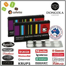 2PK CINO CLEANO CLEANING TABLETS Espresso Coffee Machine Cleaner Clean CAFETTO