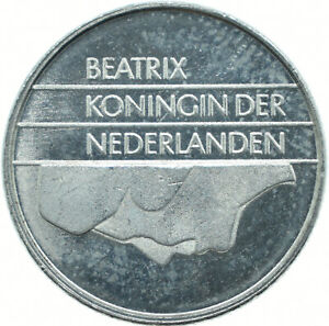 COIN / THE NETHERLANDS / 10 CENT 1985 PROOF DEEP CAMEO  #WT18015