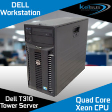 Dell PowerEdge T310 Tower Server Xeon Quad Core X3430 2.40GHz 8GB RAM DDR3 LFF