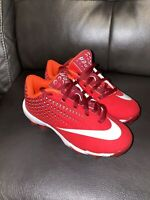 Nike Vapor Ultrafly 2 Keystone BG AQ8151-601 11c Red White Baseball Cleats