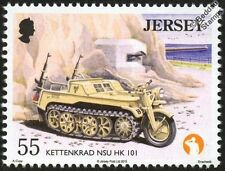 SdKfz 2 NSU KETTENKRAD HK 101 Military Gun Tractor Vehicle WWII War / Car Stamp