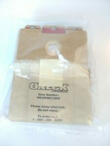 10 Pk Oreck Commercial Upright Pro 12 Series Vacuum Bags PK10PRO12DW For UPRO12