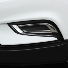 Chrome Front Fog Light Cover 2pcs for Buick Encore / Vauxhall Opel Mokka 17-18