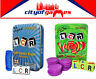 LCR - Left Center Right Blue Tin & Left Center Right Wild Dice Game Bundle