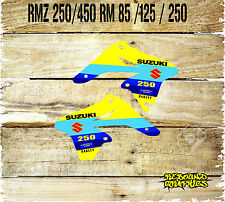 SUZUKI RM 65 85 125 250 RMZ 250 450  MOTOCROSS GRAPHIC KIT RAD SCOOPS ALL YEARS