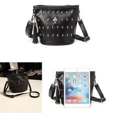 Women Fashion Skull Punk Goth Tassel Messenger Crossbody Shoulder Bag Handbag
