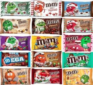 M&M's CHOCOLATE MARS CANDY PACKS SHARING SIZE LIMITED EDITION PICK ONE PACK