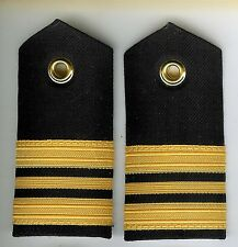Pair Obsolete Canadian Navy Lieutenant Commander Female Shoulder Boards