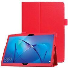 c8fecf93cf7 Folio de Cuero Protector Caso Delgado Soporte Funda para Huawei Mediapad T3  10