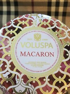 Voluspa Macaron Two Wick Candle - 11 OZ - Famed Macarons de Paris - NEW!