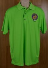 Paragon Fluorescent Green Polo Shirt National Law Enforcement Conference Medium