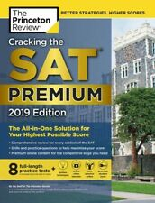 Cracking the SAT Premium 2019 Edition by The Princeton Review 8 Tests