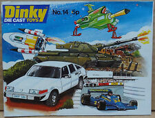 Dinky Toys No. 14 1978 catalogue U.K. Edition - MINT perfect ex trade pack