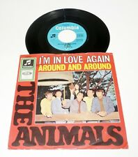 """THE ANIMALS """"I'm In Love Again"""" german 1964 VG+/VG- 7"""" PS 45 BEAT 60s Columbia"""