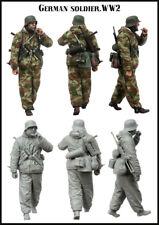 1:35 resin soldier figure model World War II German one man E121