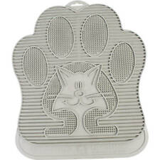 Cat Litter Mat Cleans Paws Contains And Hides Litter Keeps Floor Clean Gray New