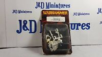 Games Workshop Warhammer Fantasy Battle Champion of Chaos w Two Axes Metal BNIB
