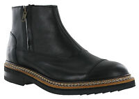 CAT Caterpillar Adner Chelsea Boots Mens Leather Zip-Up UK6-12