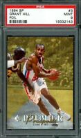 1994-95 sp #3 GRANT HILL detroit pistons rookie card PSA 9