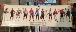 "Bo Jackson ""Don't I Know You"" Poster Nike 24x72"
