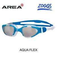 ZOGGS AQUA FLEX SWIMMING GOGGLES , BLUE CLEAR, SWIMMING GOGGLES