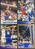 1992-93 Ultra SHAQUILLE ONEAL #328 4 Rookie Card Lot Fleer Top Prospects