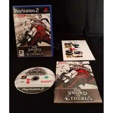 The Sword of Etheria (Completo) PAL ESPAÑA SONY PLAYSTATION 2 PS2