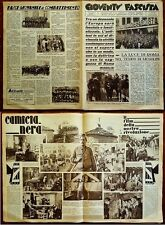 "G100-FASCISMO, RIVISTA "" GIOVENTU' FASCISTA "", ACHILLE STARACE, ROMA 1933"