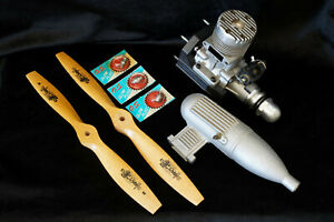 O.S. MAX 60SR RC Airplane Engine & Accessory Package