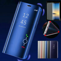Case Cover for Samsung A70 A50 A40 A30 A10 Clear View Flip Leather 360° MIRROR