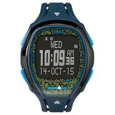 Orologio TIMEX SLEEK 150 LAP TW5M08200 TAP SCREEN Digitale Silicone Blu Azzurro