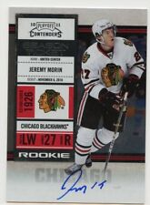 10/11 CONTENDERS ROOKIE RC TICKET AUTOGRAPH AUTO #128 JEREMY MORIN *46083