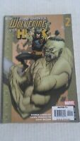 Ultimate Wolverine Vs Hulk #2 April 2006 Marvel Comics Lindelof Yu Mccaig