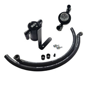 Fits F150 5.0 Catch Can Oil Separator 11-21 F150 Ecoboost 2.7 3.5 Black
