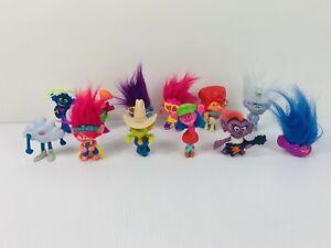 Bulk Lot 12 McDonalds Happy Meal Toys TROLLS Bundle