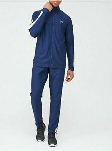 Under Armour Sportstyle Pique Tracksuit Trouser Academy Size Medium